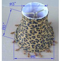 chandelier small lamp shade with hanging beads