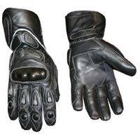 Bike rider leather glove
