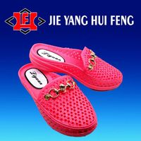 Vivid Air Blowing Garden Shoes Mould For Lady