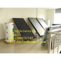 Blue titanium solar thermal collector thumbnail image