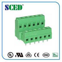PCB Screw terminal block 3.81/5.08mm screw clamp connector thumbnail image