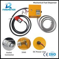 Mechanical diesel fuel dispenser,manual fuel dispenser,