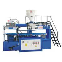 pvc jellly/crystal shoe injection molding machine(12 workstations)