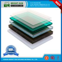 high quality 100% Virgin PC Resin Lexan solid polycarbonate sheet thumbnail image