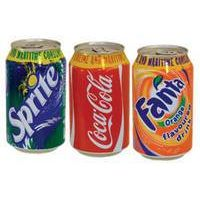 Soft Drinks - Soft Drink Coca Cola - Fanta- Sprite Can 330ml thumbnail image