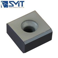High Performance Indexable Carbide Milling Cutter Inserts