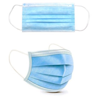 Surgical Face Masks 3 Layers Sterile Disposable FDA CE Face Mask thumbnail image