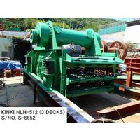 "RECONDITIONED & REPAINTED ""KINKI"" HORIZONTAL TYPE 5' X 12' (3 DECKS) VIBRATING SCREEN S/NO. S-6652 thumbnail image"
