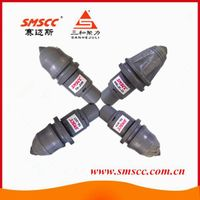 SM06 22mm Round Shank Surface Drilling Bullet Bit Auger Rock Drill Tools Rotary Rig Spare Parts Foun