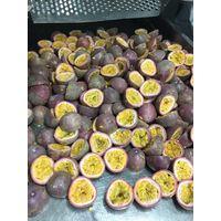 IQF passion fruit half cut