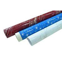 High gloss metalic/laser PVC film for furniture / construction decorative lamination