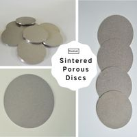 Titanium sintered porous metal filter fluidized plate pure titanium sintered foam plate thumbnail image