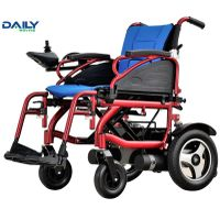 Economic Aluminium Folding Electric Power Wheelchair