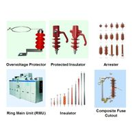 Arester, Overvoltage Protector, Lightning Protected insulator, Ring Main Unit, RMU, cable accessorie thumbnail image