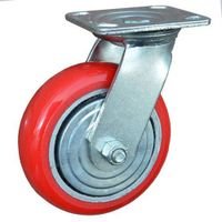 Heavy Duty Caster Wheels / Industrial  Polyurethane Wheel For Casters /