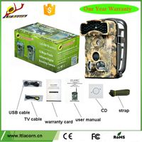 Trail Camera 1080p No Glow 12mp Infrared 940nm Digital Hunting Game Camera