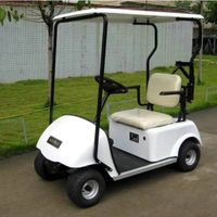 Marshell battery electric single seat golf cart