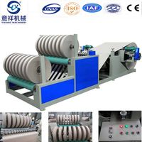 Kraft paper slitter and rewinder