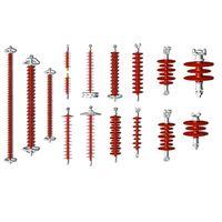 Overhead transmission distribution line insulators