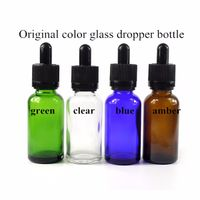 5ml 10ml 15ml 30ml 50ml 100ml Essential Oil perfume Amber Glass Bottles with Dropper