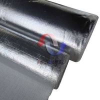 Aluminum laminated fiberglass cloth
