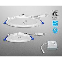 CCT Adjustable LED Flat Round Downlight thumbnail image
