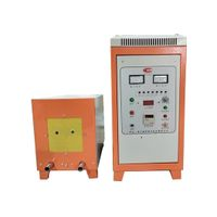 high frequency gear bolts blade steel bar induction heating machine for brazing