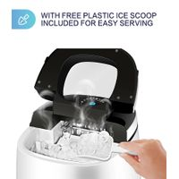 Home Portable mini Ice Maker Machine for Countertop,with self-clean function,55bls per 24hours