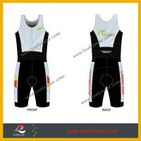 2015 new design Lycra Triathlon wear trisuit