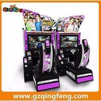 Qingfeng coin operated  driving simulator machine arcade game machine video games machine