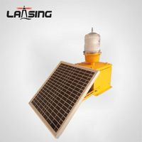 DLT10S ICAO Flashing Solar power aircraft warning lights, Aviation obstruction lamp for Windturbine thumbnail image