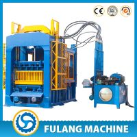 QTF6-15 Large hydraulic fully automatic cement hollow brick making machinery for sale