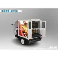 YEESO Electric Advertising cargo tricycle/trike for Ice Cream, Pizza, Bread, drinks,foods promotion