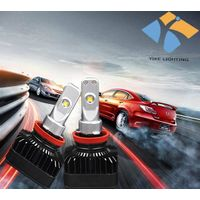 24W 2000 lumen car headlight / fog light assembly