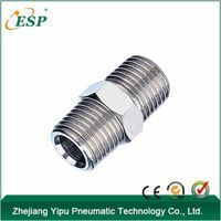 PSM belt brass plated nickel Pneumatic straight fittings