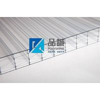 7-wall R-structure polycarbonate hollow sheet