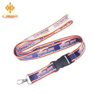 Wholesale high quality heat transfer lanyard custom vograce make one custom lanyard