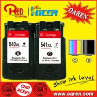 Printer Ink Cartridges for Canon CL-541XL Show Ink Level