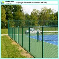 made in china galvanized pvc coated chain link fence