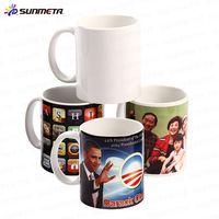 11oz Sublimation Coated White Ceramic Mugs Blanks Wholesale thumbnail image