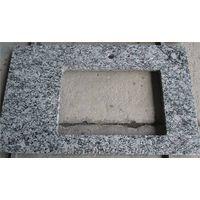 Spary White Granite Countertops,Wave White Tops,Surf White Light Grey Granite Tops,Vanity Tops, Bath