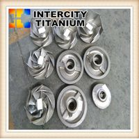ASTM B367gr2 gr3 gr5 titanium precision casting from china factory thumbnail image