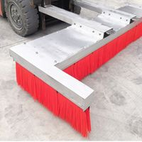 Forklift Mounted Attachment Broom Road Sweeper Brushes thumbnail image