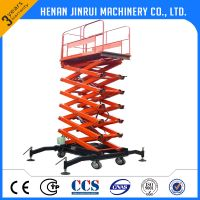 handle power moving scissor lift cheap price