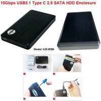USB 3.1 Type C 2.5'' sata SSD hdd enclosure with JMS580 thumbnail image