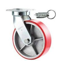 Direction Lock Casters With Swivel Plate