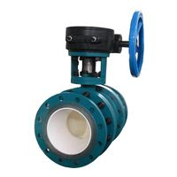 Ceramic lined ball valve
