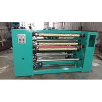 Precision adhesive tape slitting machine