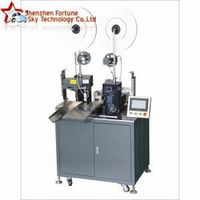Automatic Double Wires Both-ends Terminal Crimping Machine
