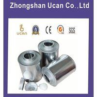 4oz,8oz,16oz,32oz screw top metal glue tin cans with white dauber